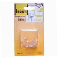 ventouse pour table de verre - lot de 8 - d: 6 mm - achat / vente