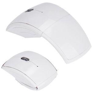SOURIS 2.4G sans fil pliable pliant souris optique pour M