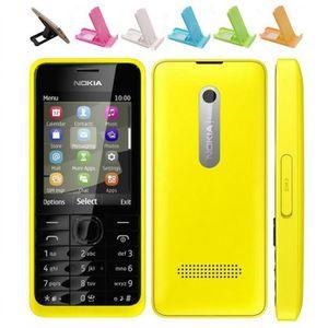SMARTPHONE (Jaune) Pour Nokia 301 Dual SIM Occasion Débloqué