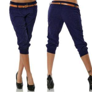 PANTALON Pantalons courts pour femmes Pantalons décontracté
