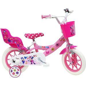 VÉLO ENFANT DISNEY Vélo enfant Fille Minnie - 12'' - Rose