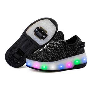 BASKET Mode enfants chaussures garçons à roulettes LED Lu
