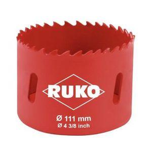 SCIE ÉLECTRIQUE RUKO - 106111 - Scie-cloche bi-métal - 111 mm (Imp