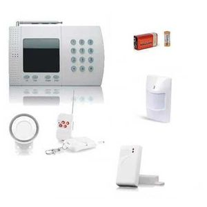 KIT ALARME Alarme appartement sans fil avec sirène intérieure