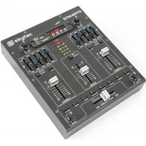 TABLE DE MIXAGE Skytec STM-2270 Table de mixage 4 canaux Bluetooth