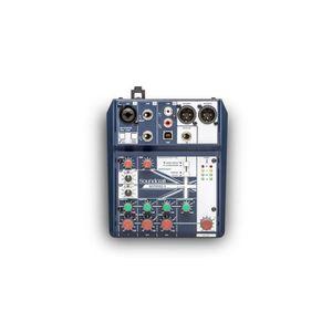 SURFACE DE CONTRÔLE SOUNDCRAFT NOTEPAD-5. Table de mixage avec usb, 3