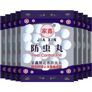 PRODUIT INSECTICIDE 10 packs Boules De Naphtaline blanc camphre pilule