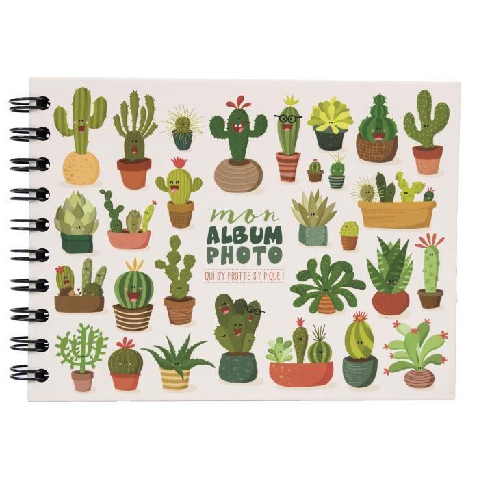 PANODIA Album photo Cactus - 30 pages - Collection Artist - 19 x 13 cm