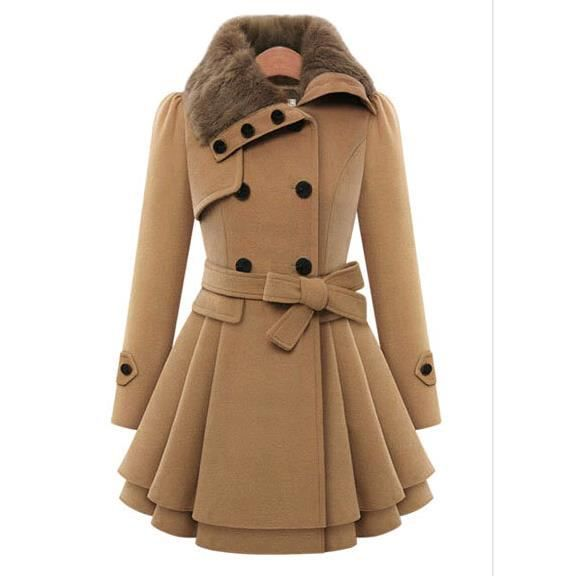 Manteau trench coat femme
