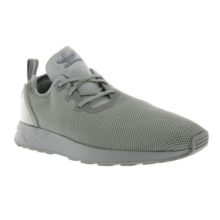 Adidas Originals ZX Flux ADV Asymmetrical Hommes Chaussures  S79052  Gris - Achat / Vente basket  - Soldes* dès le 27 juin ! Cdiscount