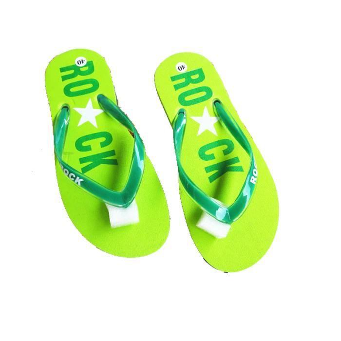 2017 Femmes sandales Summer Beach Tongs Lady femme chaussons chaussures d'été sandales pour femmes talon plat Casual