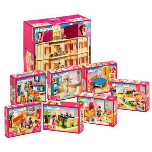Playmobil 5302 set complet achat vente univers for Maison moderne playmobil carrefour