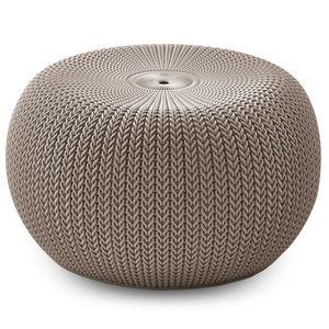 pouf beige achat vente pouf beige pas cher. Black Bedroom Furniture Sets. Home Design Ideas