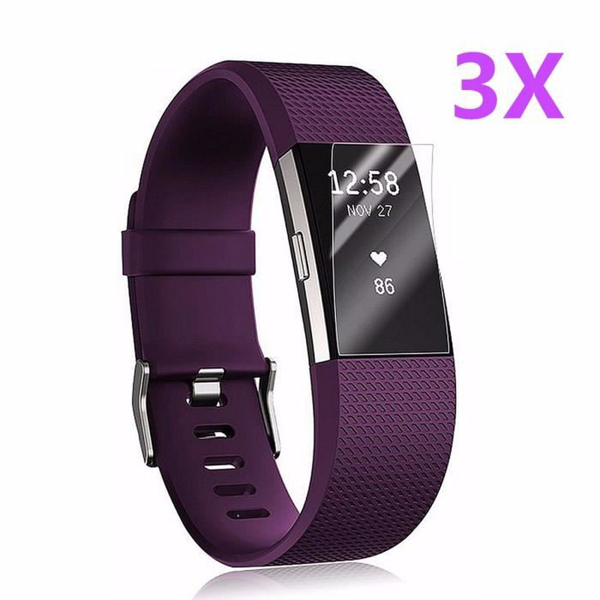 protection fitbit charge 2 achat vente protection fitbit charge 2 pas cher cdiscount. Black Bedroom Furniture Sets. Home Design Ideas