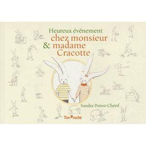 Livre 3-6 ANS Heureux événement chez Monsieur et Madame Cracotte