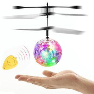DRONE Volant RC électrique Boule LED clignotant avion lé