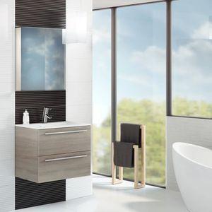 meuble salle de bain marron - achat / vente meuble salle de bain ... - Salle De Bain Marron