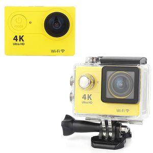 CAMÉSCOPE NUMÉRIQUE 4K 1920p HD Wi-Fi Sport Caméscope 30m Etanche CMOS
