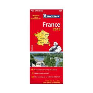 AUTRES LIVRES Carte routière et touristique National France 2015