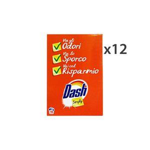 LESSIVE DASH Il suffit de régler de 12 poudre à lessive 18