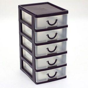 boite de rangement plastique avec tiroir achat vente. Black Bedroom Furniture Sets. Home Design Ideas