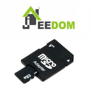 CARTE MÉMOIRE Carte Micro SD 8Go (adaptateur inclus) avec systèm