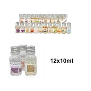 PARFUM À BRÛLER Lot 12 huile de parfum huiles essentielles Senteur