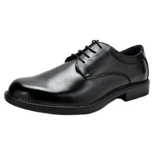 new concept d6eb3 99a07 DERBY Bruno Marc Downing-02 Robe en cuir doublé Oxfords ...