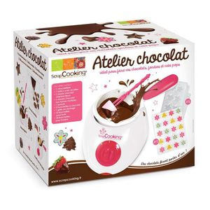 CUISINE CRÉATIVE - JEU CULINAIRE Atelier chocolat - Scrapcooking