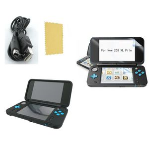 PACK ACCESSOIRE Pack Nintendo New 2DS XL Housse silicone-Chargeur