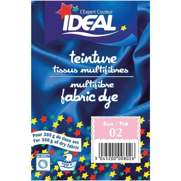 Teinture pour tissu multifibres - 15 g - rose