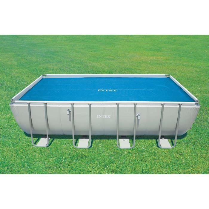 INTEX Bâche à bulles piscine tubulaire 5,49x2,74m