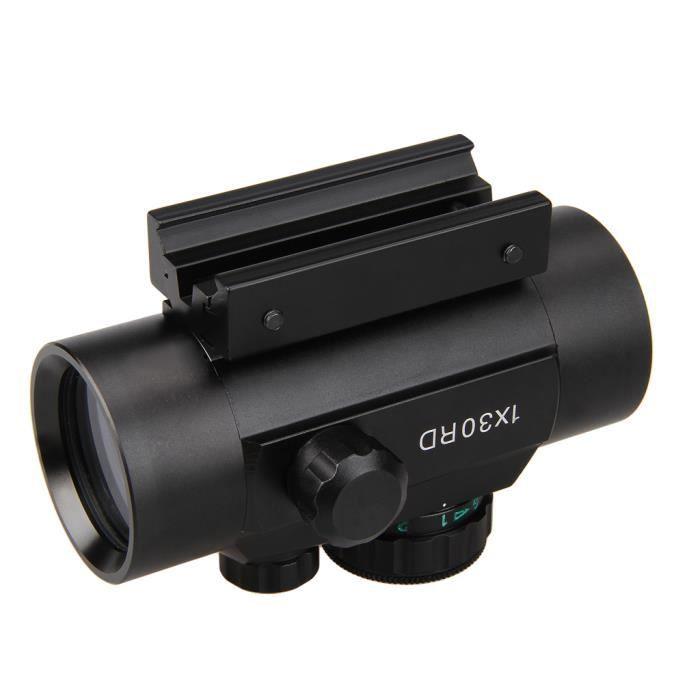 908a3841ed89be Lunette de visée laser point rouge tactique illuminée - Achat ...