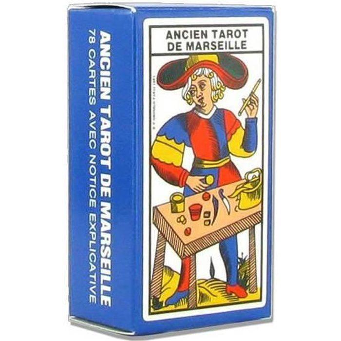 CARTES DE JEU Mini Ancien tarot de Marseille - jeu de 78 cartes