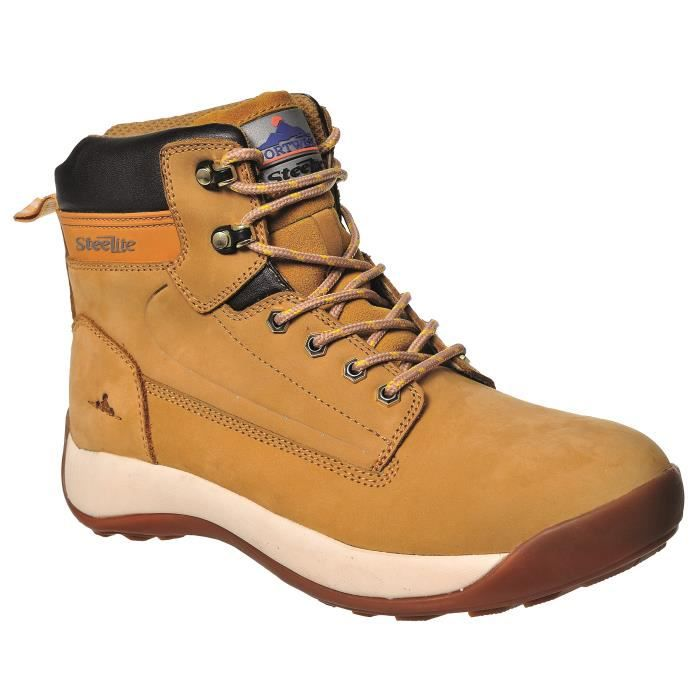 Portwest FW32 Chaussures de travail en nubuck S3 40 miel 1xHSmnEVk0