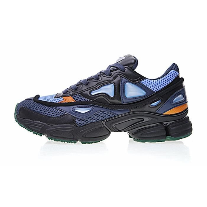 Baskets Raf Simons Consortium Ozweego 2 II Chaussures Sneakers Femme Homme Bleu