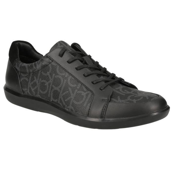 Derbies Calvin Klein Macabee 2 avec imprimé CK logo noir.