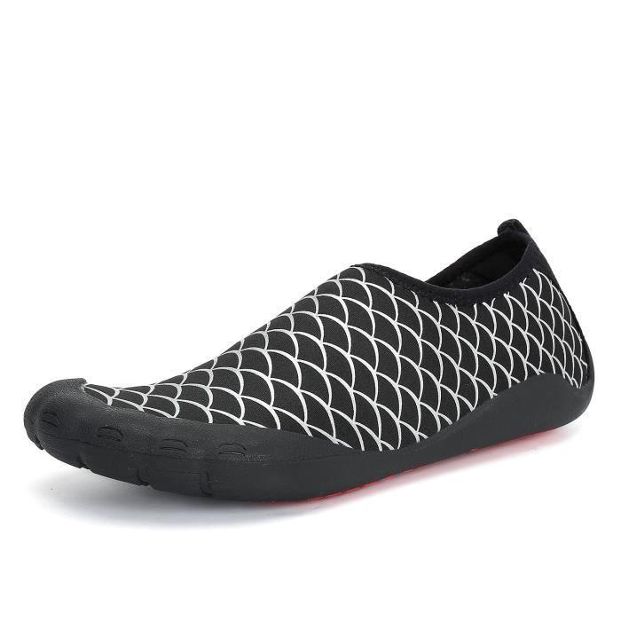 De Plage D'eau Hommes Pour Chaussures Loisir Antidérapant 68F1n1