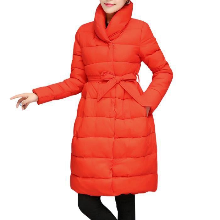 Veste coton orange