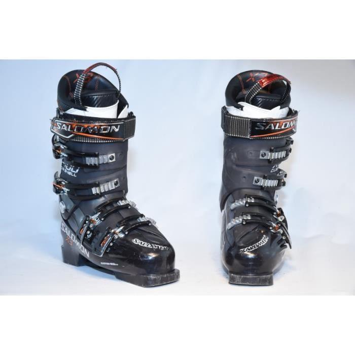 X3 Ski Noir Occasion Cher Chaussure De 100 Salomon Prix Pas bgf76Yyv