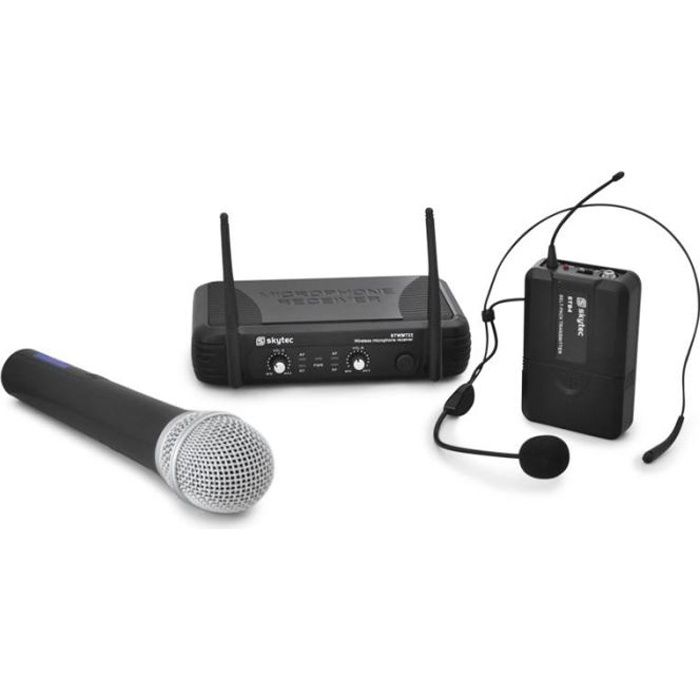stwm722 set de micros sans fil uhf casque microphone accessoire avis et prix pas cher. Black Bedroom Furniture Sets. Home Design Ideas