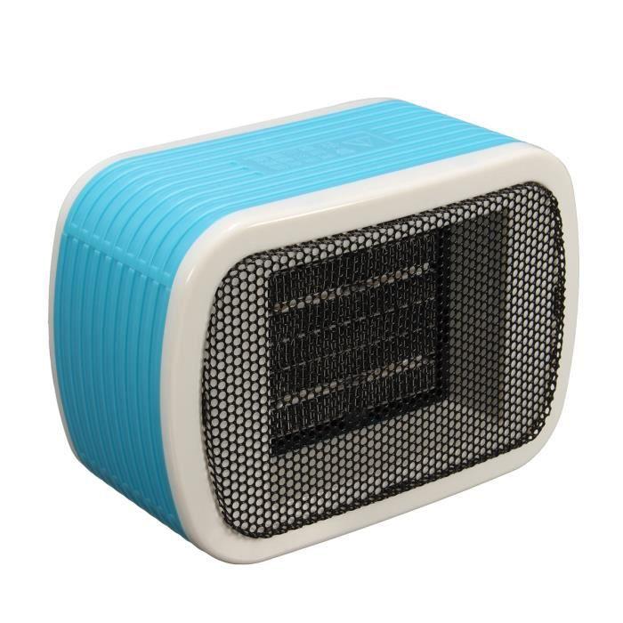220v 500w mini chauffage radiateur electrique 3000rpm maison bureau s curit abs bleu achat. Black Bedroom Furniture Sets. Home Design Ideas