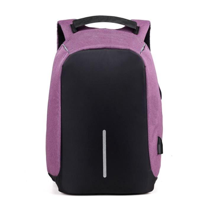 Napoulen®Mode portable sac à dos ordinateur école voyage affaires Loisirs pour hommes-XPP11127641