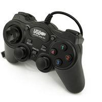 MANETTE JEUX VIDÉO Manette de jeu USB 2.0 noir avec fil Joypad Joypad