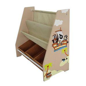 PETIT RANGEMENT  Meuble range-livre Enfant Chambre Pirate