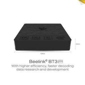 UNITÉ CENTRALE  LIUX Cent Beelink BT3 PRO Mini PC Atom x5-z8350 4K