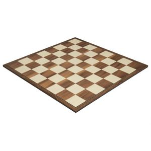 JEU SOCIÉTÉ - PLATEAU Jeu d'échecs pliant en noyer de 16,75 pouces