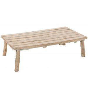 Table Basse Chene Brut Achat Vente Pas Cher