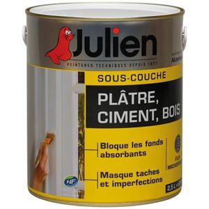 PEINTURE   VERNIS JULIEN S/COUCHE J4 PLAT/CIM/BOIS 2.5L