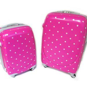 VALISE - BAGAGE Les Trésors De Lily [M2202] - Set 2 valises ABS...